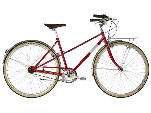 Ortler Bricktown - Vélo de ville Femme - rouge